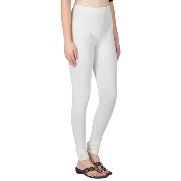 Off White Lycra Legging