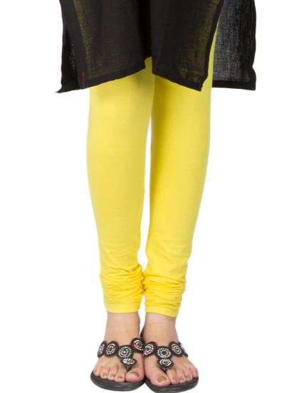 Yellow Cotton Legging